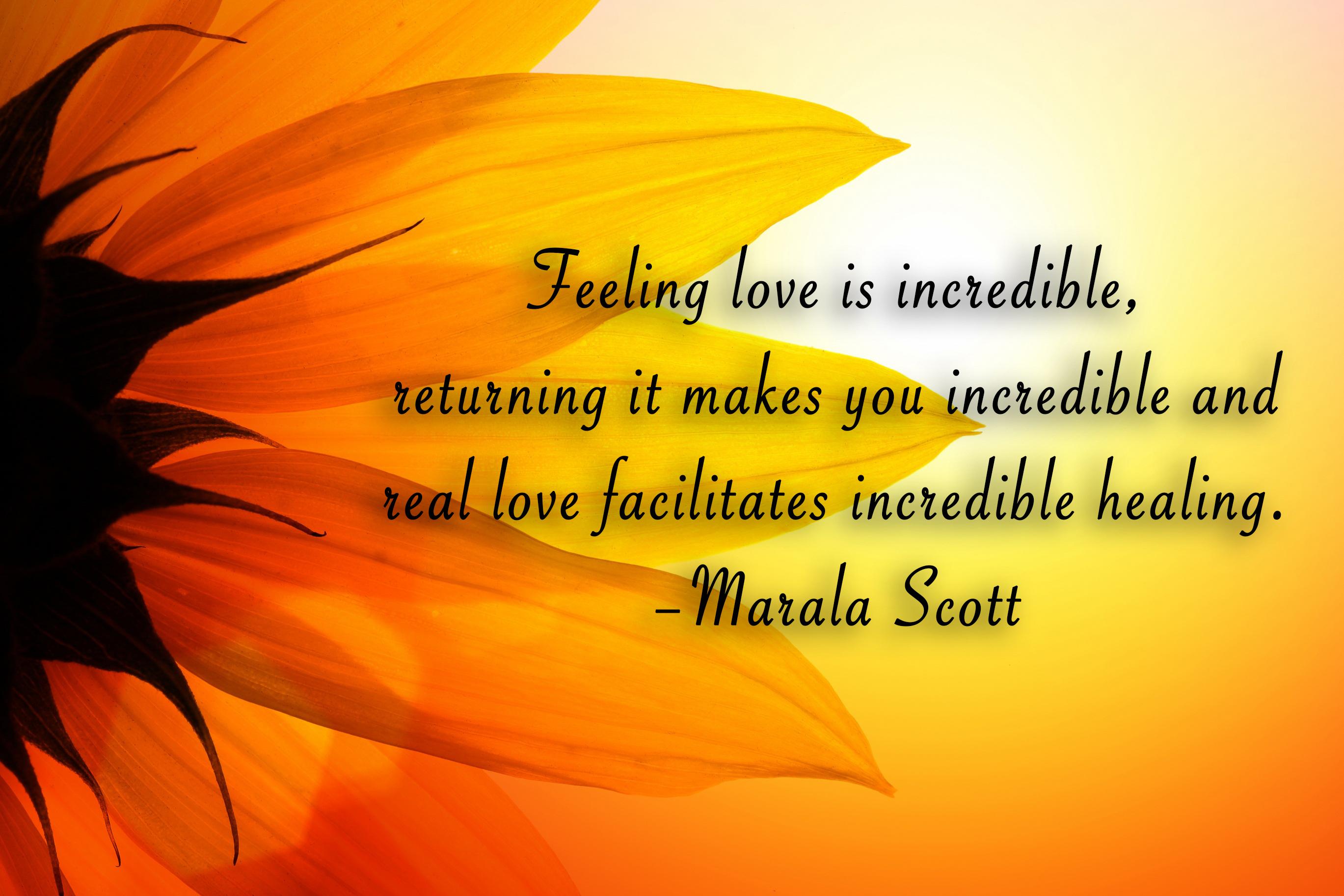 sunflower-healing quote
